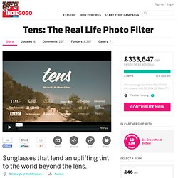 Tens: The Real Life Photo Filter