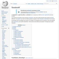 Tensioactif
