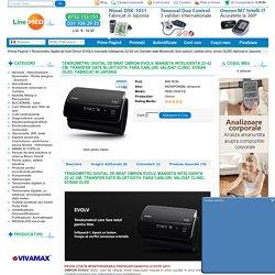 Tensiometru digital de brat Omron EVOLV, manseta inteligenta 22-42 cm, transfer date Bluetooth, fara cabluri, validat clinic, ecran OLED, fabricat in Japonia