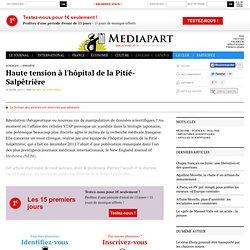 Haute tension à l'hôpital de la Pitié-Salpêtrière