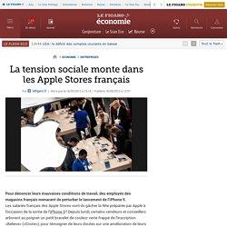 Sociétés : La tension sociale monte dans les Apple Store français
