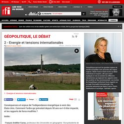 2 - Energie et tensions internationales