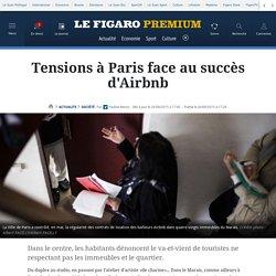 Tensions à Paris face au succès d'Airbnb