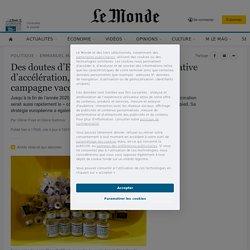 Des doutes d'Emmanuel Macron à la tentative d'accélération, dans les coulisses de la campagne vaccinale
