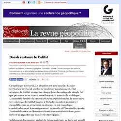 Daesh : une tentative de territorialisation du salafisme (...)