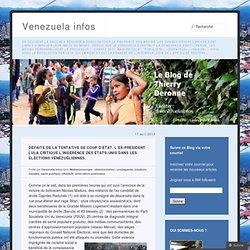 Défaite de la tentative de coup d'État. L'ex-président Lula critique l'ingérence des États-Unis dans les élections vénézuéliennes.