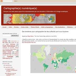 Des tentatives pour cartographier les lieux affectés par le sur-tourisme