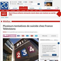 Plusieurs tentatives de suicide chez France Télévisions