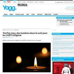 TenTen 2014: des lumières dans la nuit pour les LGBT d'Algérie