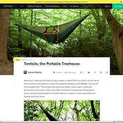 Blog & Tentsile, the Portable Treehouse