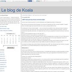 LGBT mais pas trop, tenue correcte exigée - Miss Koala tient un blog...