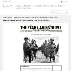US WW2 : Les tenues HBT (Herringbone Twill Dress Uniform)
