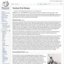 Teodoro II de Etiopía