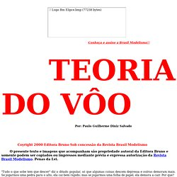 TEORIA DO VÔO
