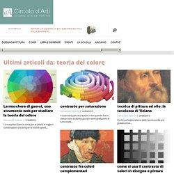 La teoria del colore nell'arte: nozioni fondamentali