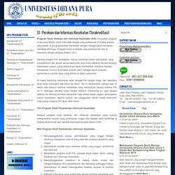 S1 RMIK - Univ.Dhyana Pura - Denpasar