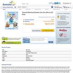 Terampil Membuat Boneka Guk Guk (Bonus CD Pola) - Kerajinan Tangan - Hobi - Buku - Buku