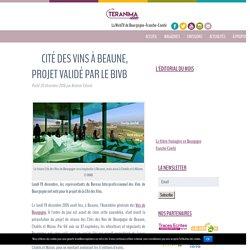 Cité des Vins à Beaune, projet validé par le BIVB - Teranima.fr - Vivez les saveurs de la Bourgogne Franche-Comté