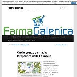 Crollo prezzo cannabis terapeutica nelle Farmacie - Farmagalenica