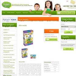 Kot w worku - Pomoce terapeutyczne, gry i zabawki edukacyjne - Kajkosz.pl - Specjalistyczny sklep internetowy