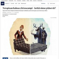Terapiaan haluaa yhä useampi – ketkä sinne pääsevät? - Psykiatrinen hoito - Sunnuntai - Helsingin Sanomat