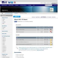 Terasic - All FPGA Main Boards - Cyclone II - Altera DE2-70 Board