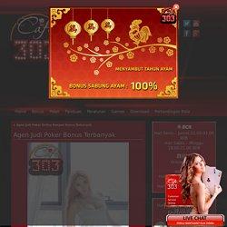 Agen Judi Poker Bonus Terbanyak