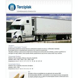 Terciplack > Compensados Fenolicos