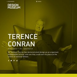 Terence Conran - Design Museum
