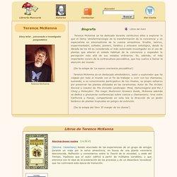 TERENCE MCKENNA (LIBROS Y PEQUEÑA BIBLIOGRAFÍA)