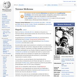 Terence McKenna