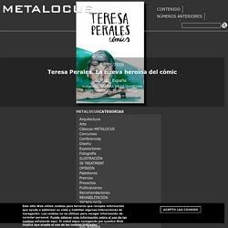 Teresa Perales. La nueva heroína del cómic