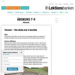 Terezín - Om detta må vi berätta