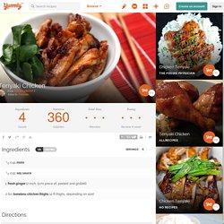Teriyaki Chicken XXIII Recipe