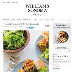 Pork Teriyaki Sliders with Grilled Pineapple