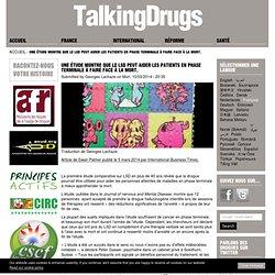 Une étude montre que le LSD peut aider les patients en phase terminale à faire face à la mort.