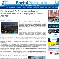 """Terminales del Bio Bio preparan diversas actividades en el marco del programa """"Puertos Abiertos"""" - Portal Portuario"""