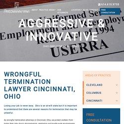 Wrongful Termination Lawyer Cincinnati, Ohio