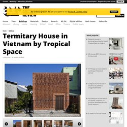 Termitary House in Vietnam by Tropical Space