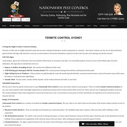 Nationwide Pest ControlNationwide Pest Control