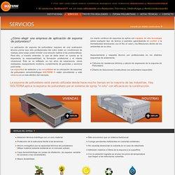SOLTERM: Aislaciones termohidrófugas de Poliuretano para la Construcción