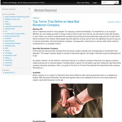 Top Terms That Define an Ideal Bail Bondsman Company
