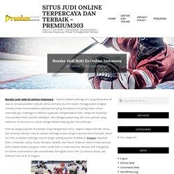 Situs Judi Online Terpercaya dan Terbaik - Premium303