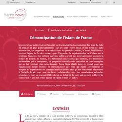 L'émancipation de l'islam de France