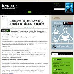Terra éco : journal indépendant sur le DD