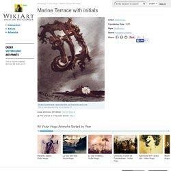 Marine Terrace with initials - Victor Hugo