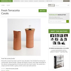 Fresh Terracotta Carafe
