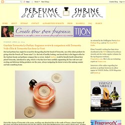 fragrance review & comparison with Terracotta Voile d'Ete & Terracotta Eau Sous Le Vent