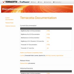 Home%u2014Terracotta: Simple Scale for Enterprise Java