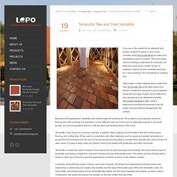How to Choose Terracotta Tiles?